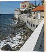 Samos Greece Wood Print