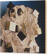 Sample Of Pyrite Wood Print