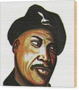 Samuel L Jackson Wood Print