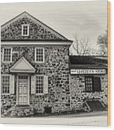 Samuel Livezey's Store Wood Print
