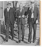 Samuel S. Leibowitz 1893-1978, Attorney Wood Print by Everett