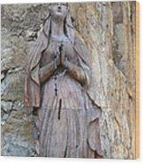 San Carlos Borromeo De Carmelo Mission 6 Wood Print