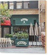 San Francisco - Maiden Lane - Mocca Cafe - 5d17788 Wood Print