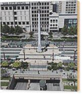 San Francisco - Union Square - 5d17942 Wood Print