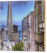 San Francisco Wood Print