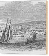 San Francisco Bay, 1849 Wood Print