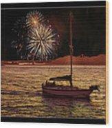 San Francisco Golden Gate 75th Anniversary Wood Print