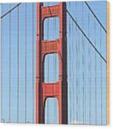 San Francisco Golden Gate Bridge . 7d7804 Wood Print