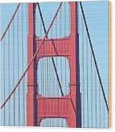 San Francisco Golden Gate Bridge . 7d7809 Wood Print
