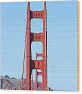 San Francisco Golden Gate Bridge . 7d8146 Wood Print