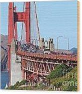 San Francisco Golden Gate Bridge . 7d8151 Wood Print