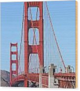 San Francisco Golden Gate Bridge . 7d8164 Wood Print