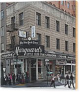 San Francisco Marquards Little Cigar Store Powell Street - 5d17950 Wood Print
