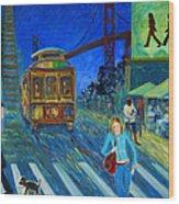 San Francisco Moments Wood Print