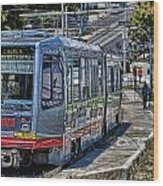 San Francisco Muni Wood Print