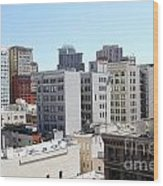 San Francisco Skyline . 7d7490 Wood Print