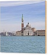 San Giorgio Maggiore Wood Print by Joana Kruse