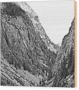 San Juan Mountains Wood Print