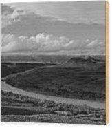 San Juan River Utah Wood Print
