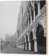 San Marco Square In Venice Wood Print