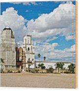 San Xavier Mission Tucson Az  Wood Print