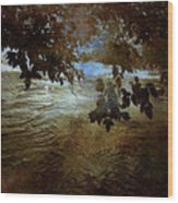 Sanctuary By The River Wood Print