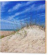 Sand Dune  Wood Print
