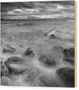 Sand Harbor, Lake Tahoe State Park Wood Print by David Kiene