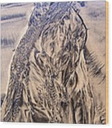 Sand Painting 55 Wood Print