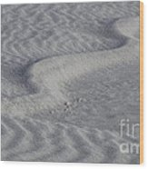 Sand Patterns 2 Wood Print