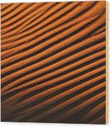 Sand Ripple Wood Print