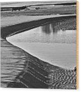 Sandbank  Wood Print