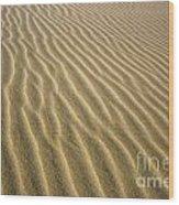 Sandhills Wood Print