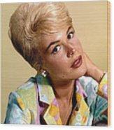 Sandra Dee, Ca. Early 1960s Wood Print by Everett