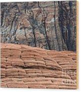 Sandstone Ballet Wood Print