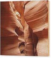 Sandstone Slots Wood Print