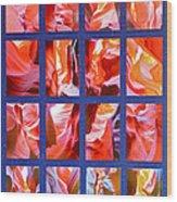Sandstone Sunsongs Rockin Red Wood Print