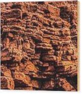Sandstone Wall Wood Print