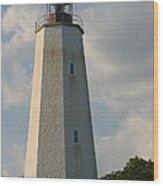 Sandy Hook Lighthouse 2 Wood Print
