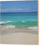 Sandy Makena Beach Wood Print