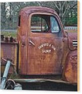 Sanford And Son Salvage 2 Wood Print