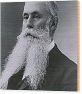 Sanford Dole 1844 1926 Was A Son Wood Print