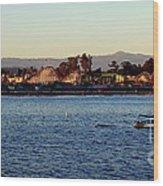 Santa Cruz Boardwalk  Wood Print by Garnett  Jaeger
