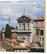 Santi Domenico E Sisto Wood Print