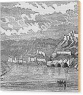 Santiago De Cuba, 1853 Wood Print