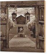 Santuario De Chimaya Wood Print