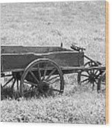 Sap Wagon Wood Print
