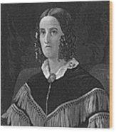 Sarah Childress Polk Wood Print by Granger