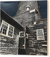 Saskatchewan Grain Elevator Wood Print