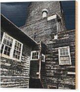 Saskatchewan Grain Elevator Wood Print